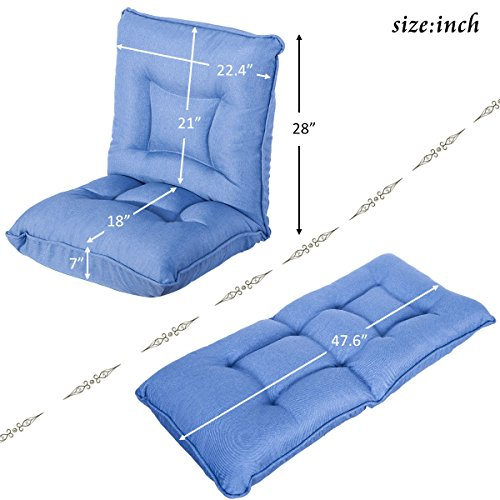 5199Ncpw95L - HarperBright-Designs-Adjustable-5-Position-Folding-Floor-Gaming-Chair-Sofa-Lounger-Bed