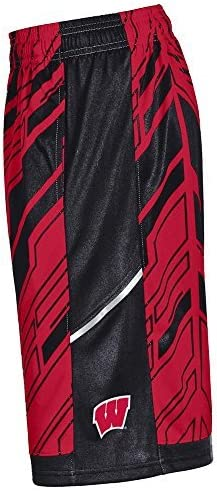 Wisconsin Badgers under armour Youth Doomsday Shorts