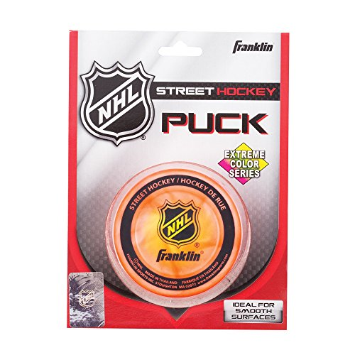 Franklin Sports NHL Street Hockey Extreme Color Puck