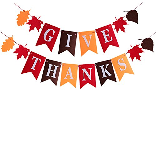 Discover Bargain Happy Thanksgiving Party Banner Decorations For Give Thanks Supplies