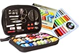 Big Sewing KIT and Sewing Set with 24-Color Threads Bundle- for All-Purpose Sewing Repairs at Home & in The Office. Complete Sew Kit with Mixed Color Threads for Maximum Satisfaction