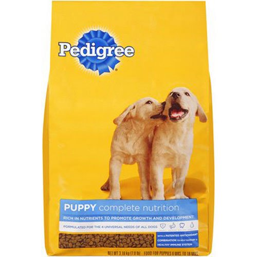PEDIGREE Puppy Growth and Protection Chicken & Vegetable Flavor Dry Dog Food 7 Pounds