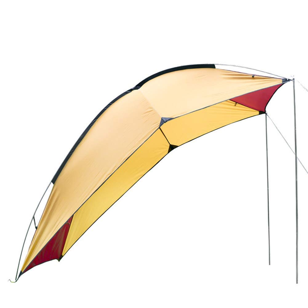 HWShop Camping Zelt, Portable Camper Tail Zelt, Selbstfahrende Tour Barbecue Multi-Person-Rainproof Shade Gazebo Beach Canopy, perfekt für Camping Outdoor Reisen
