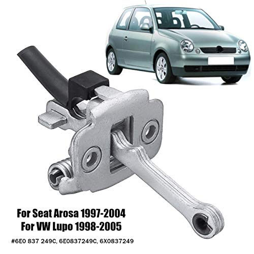 Transport-Accessories - Car Front Door Hinge Check Strap 6E0 837 249C 6E0837249C 6X0837249 For Seat Arosa 1997-2004 for VW Lupo 1998-2005