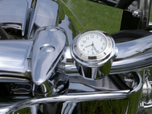 Motorcycle Handlebar Clock for 7/8