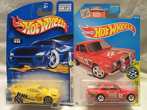 Hot Wheels 2001 First Editions Toyota Celica #036 & HW Speed