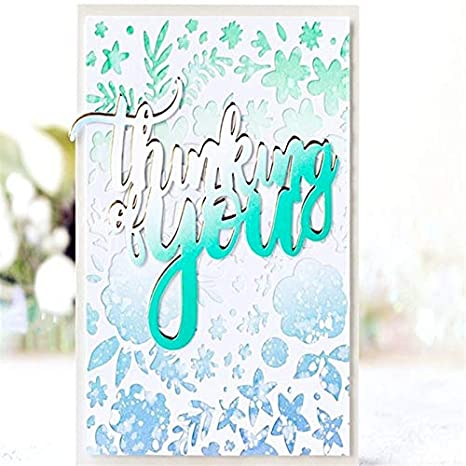 6 X With Love #2  Scrapbooking// Cardmaking Die Cuts FREE POSTAGE OFFER