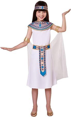 Bristol Novelty CF026 Traje de Egípcia, Mediano, 122-134 cm, Edad ...