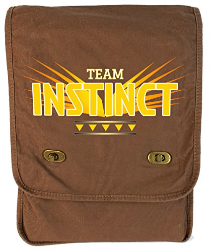 Dancing Participle Team Instinct Java Canvas Field Bag