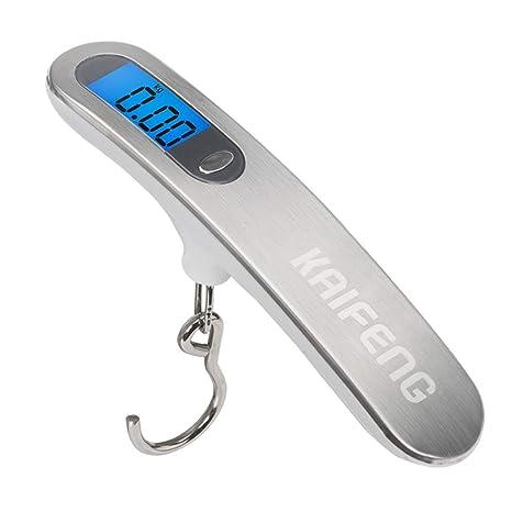41440159bf81 Amazon.com: SKATEGY Digital Hanging Luggage Scale up to 50KG ...