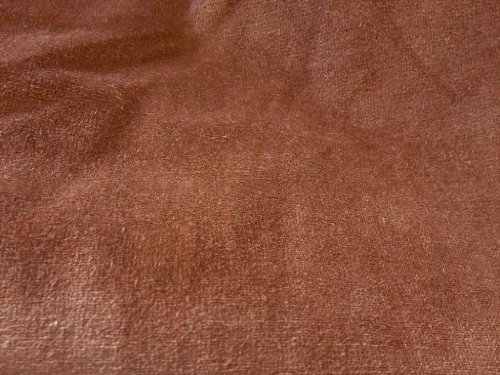 Cotton Velvet Blend Heavy Weight Brown 58 Inch Lush By the Yard