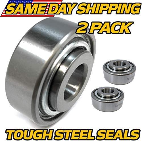 (2 Pack) John Deere TCA14968 Stripping Kit Replacement Bearing Kit - HIGH Temp Grease Upgrade - HD Switch ()