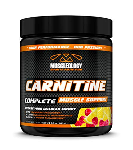 Cheap Muscleology Sports Nutrition Carnitine Complete Muscle Support Raspberry Lemonade 30 Servings