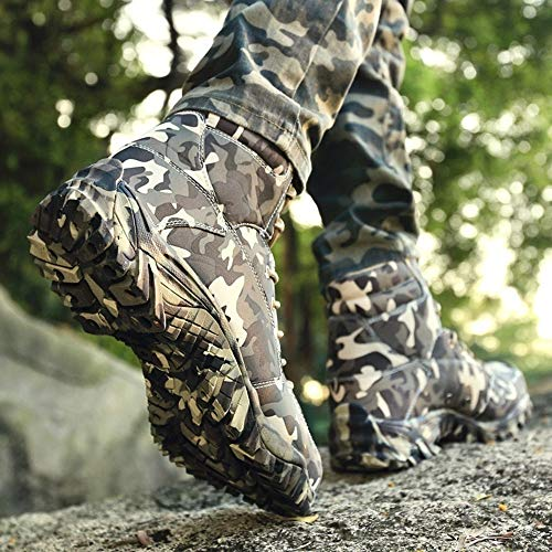 Tactical Outdoor Mountaineering Breathable Men's Combat BE DREAMER Waterproof Boots ZqxEnFv