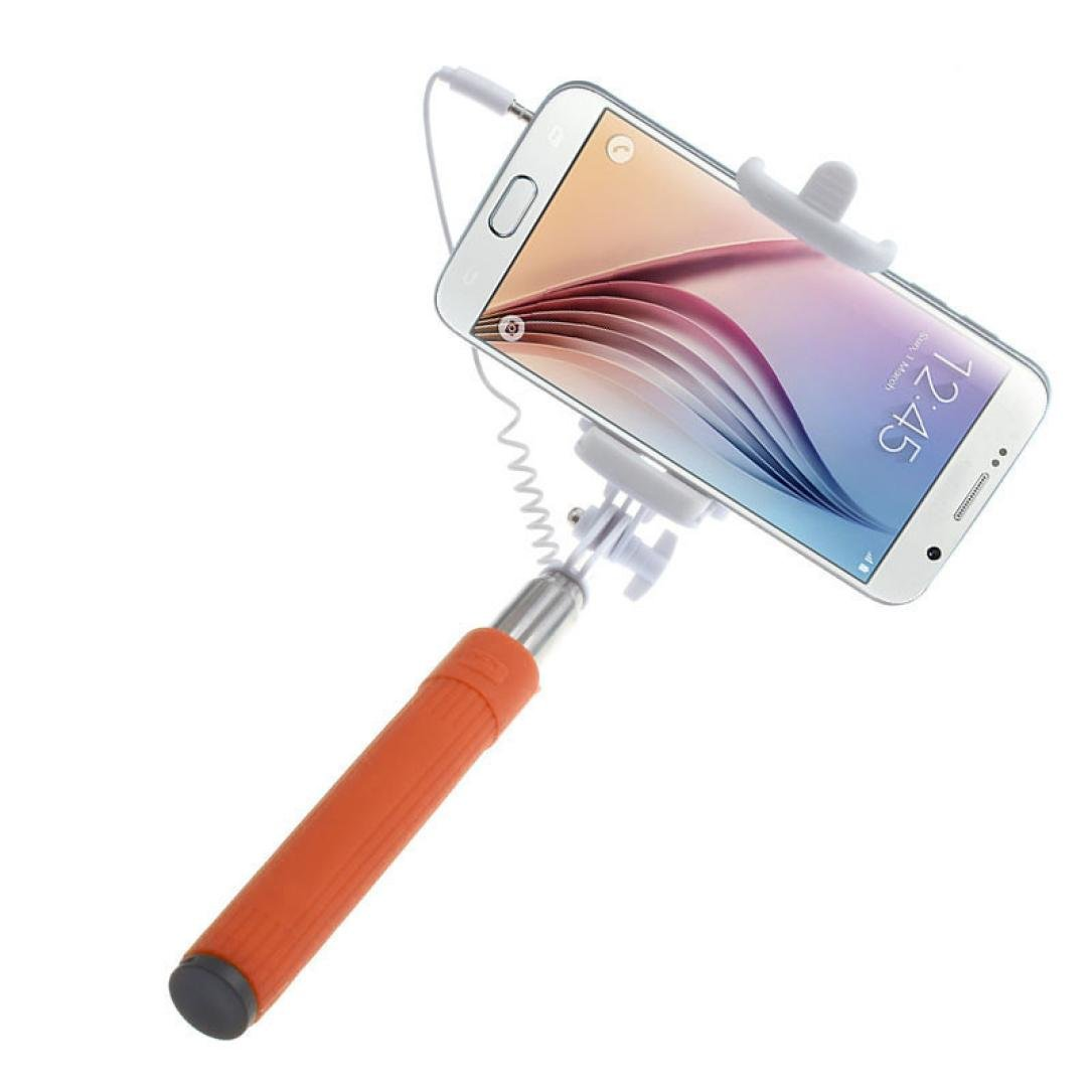 Selfie Stick, HP95(TM) Extendable Selfie Stick Monopod for iPhone, Android, Wire Wire (B)