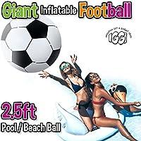 Igi - Fútbol Hinchable Gigante de 2,5 pies, Bola de Playa, Juguete ...