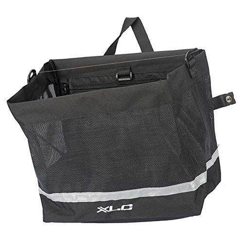 (XLC Shopper Pannier Metro; Black)