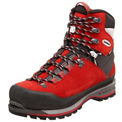 Lowa Men's Mountain Expert GTX Mountaineering Boot,Red/Black,7 M US