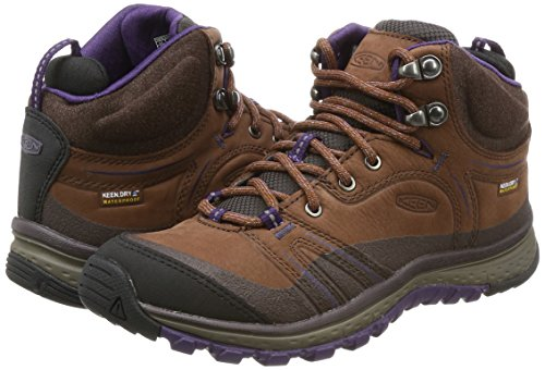 Pictures of KEEN Women's Terradora Leather mid wp- Brown 4