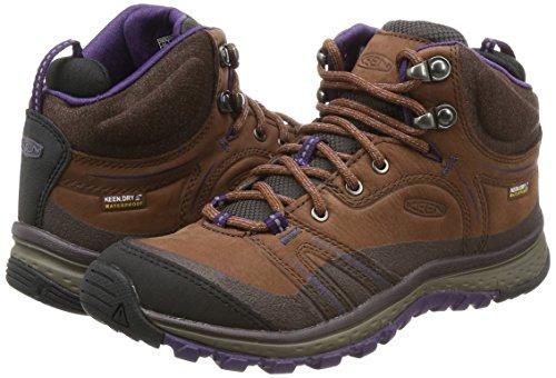 KEEN Terradora Leather Mid WP W Calzado para senderismo marrón