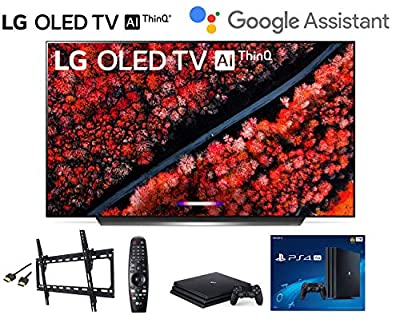 LG OLED65C9PUA OLED65C9 65 inch LG C9 Series Class 4K Smart OLED TV w/ PS4 Pro 4K w/Wall Mount Kit w/HDMI Cable - LG Authorized Dealer