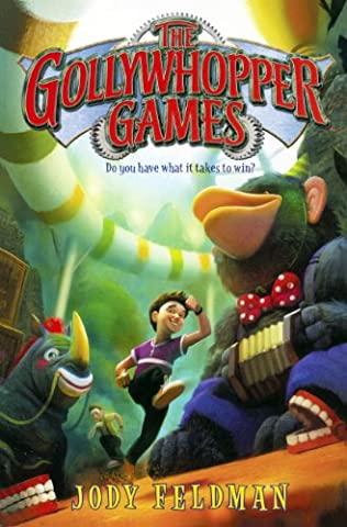book cover of The Gollywhopper Games