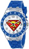 Superman Kids' SUP9049 Watch with Blue Rubber B