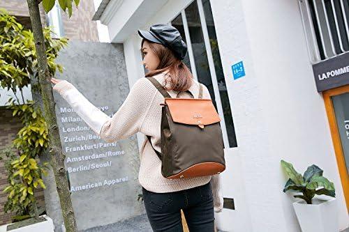 The Dude Leather Backpack Shoulder Bag Nova