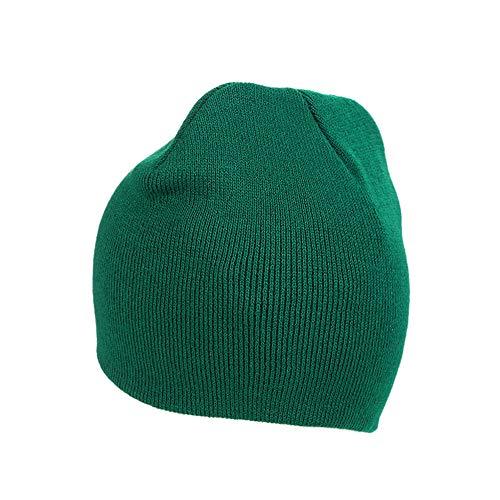 Mujeres Cap IRONLAND Verde Hats Winter Hombres Lana y Knitting Beanie para Warm Skull qOfwPOE