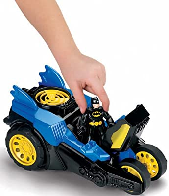 Fisher-price Imaginext Dc Super Friends Motorized Batmobile from Fisher-Price