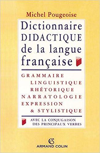 En ligne téléchargement Dictionnaire didactique de la langue française pdf ebook