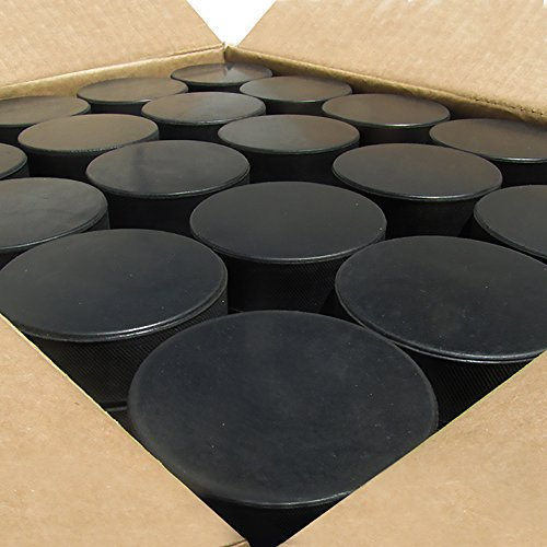 Bulk Blank Ice Hockey Pucks (50 pucks) (Ice Hockey Puck Weight)