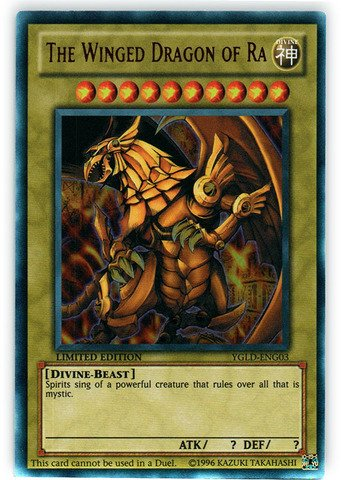 Winged Dragon Ra Yu Gi Oh (Yu-Gi-Oh! - The Winged Dragon of Ra (YGLD-ENG03) - Yugi's Legendary Decks - 1st Edition - Ultra)