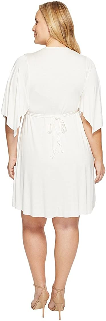 Rachel Pally Womens Plus Size Mini Caftan Dress