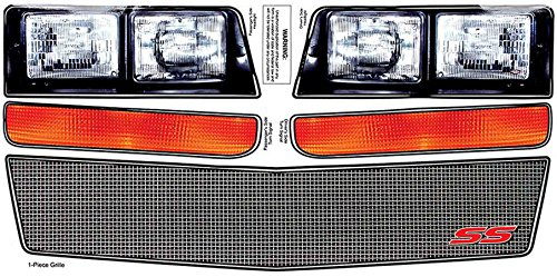- Allstar Performance ALL23038 Monte Carlo SS Nose Decal Kit, Mesh Grille