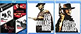 Clint Eastwood Blu Ray Combo Set & Sudden Impact / Absolute Power / Firefox / The Enforcer + The Ugly A few more dollars Western Action Pack Movie Set Fistful of Dollars