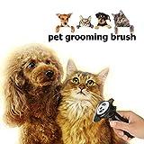 Pet Grooming Comb - Dog Cat Shedding Brush Self
