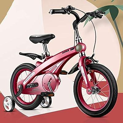 Bicicletas Para Niños Niños De Moda Niños Y Niñas Al Aire Libre Niños Al Aire Libre Los Mejores Regalos para Niños (Color : Red , Size : 12 Inches) : Amazon.es: Juguetes y juegos