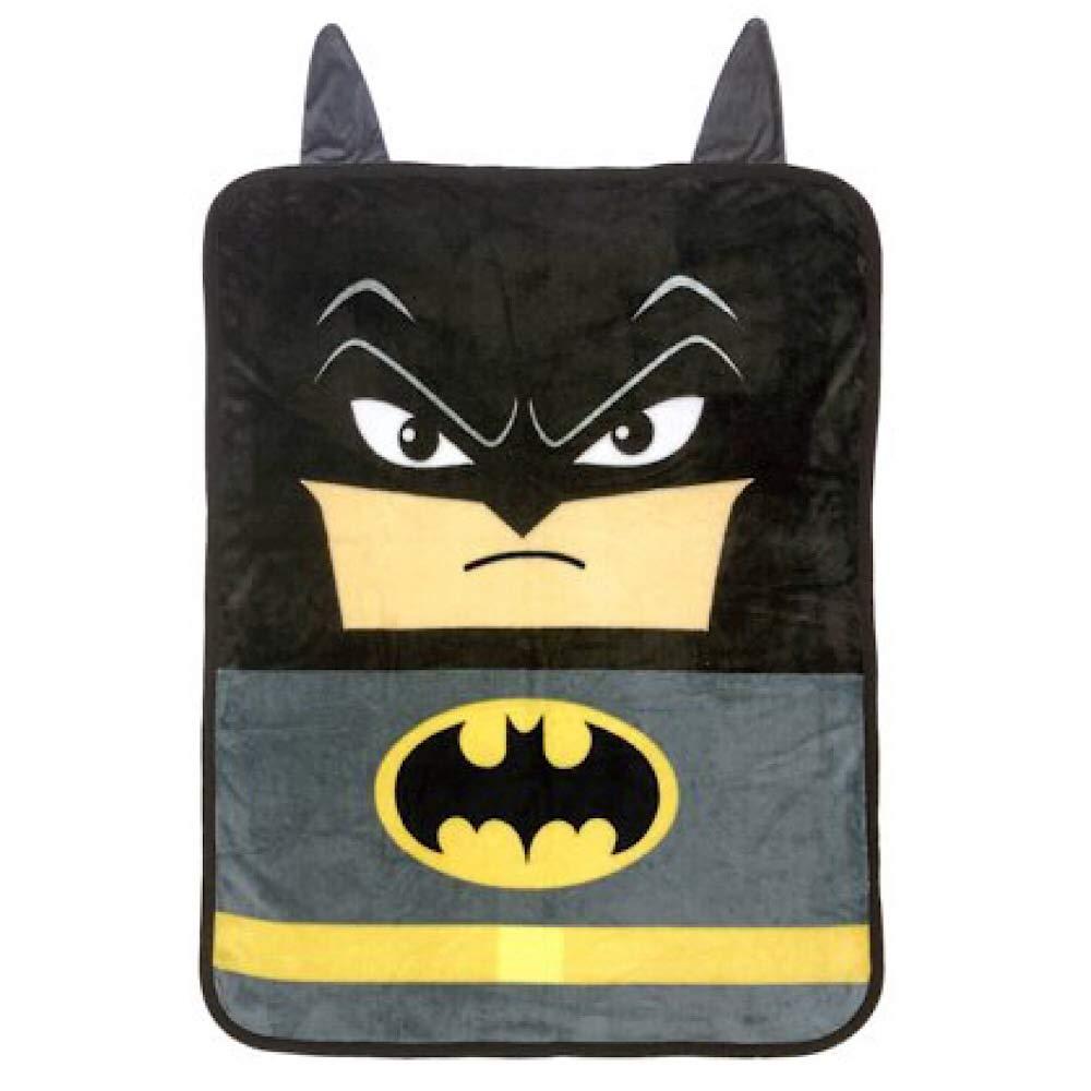 Batman The Dark Knight Kids Throw Blanket with Decorative Ears by Batman Kids