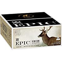 12-Count EPIC Venison Sea Salt & Pepper 1.5oz Bars