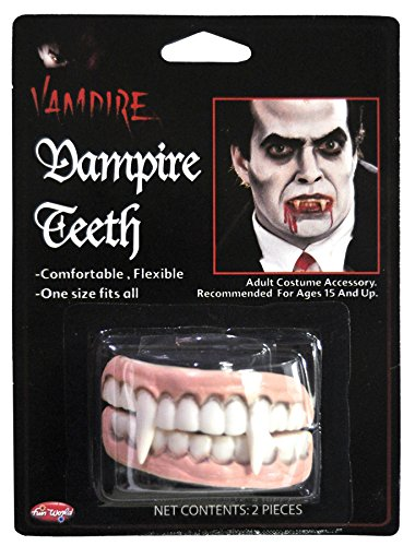 Vampire Character Teeth Accessory]()