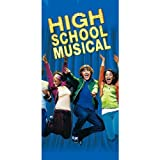High School Musical Plastic Table Cover (1ct)