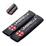 Viper Amooca umbrella corporation Seat Belt Cover Shoulder Pad Cushion (2 Pcs)