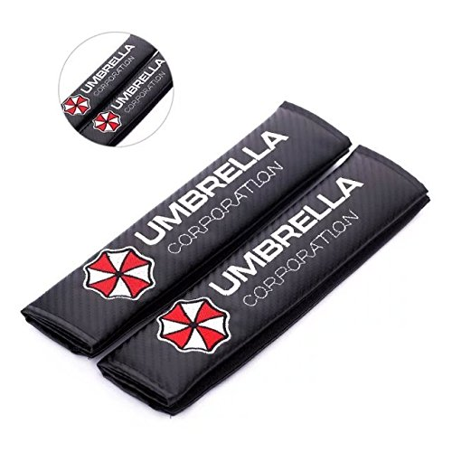 Viper Amooca umbrella corporation Seat Belt Cover Shoulder Pad Cushion (2 Pcs) (Umbrella Seat)
