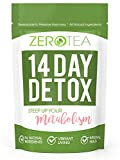 Zero Tea 14 Day Detox Tea, Teatox Herbal Tea For Cleanse