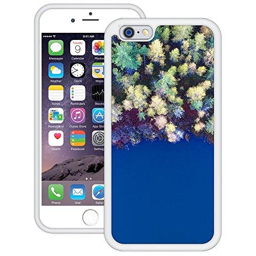 Wald Wasser | Handgefertigt | iPhone 6 6s (4,7') | Weiß Hülle