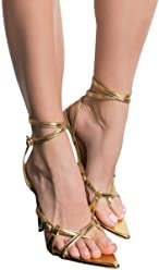 b01dee036ff2 CAPE ROBBIN Faux Snakeskin Snake Print Strappy Pointed Toe Perspex Stiletto  Sandals