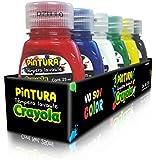 Crayola 542101M001 Pintura Témpera Lavable, 25 ml, Paquete de 6 Piezas