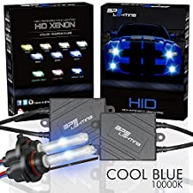 BPS Lighting® Black Series Premium AC 35w HID Xenon Conversion Kit With Quick Start Ballast Technology - Perfect to Replace Halogen Headlight & Fog Light - 2 Yrs Warranty / Tech Support (9005 (HB3), 10000K)