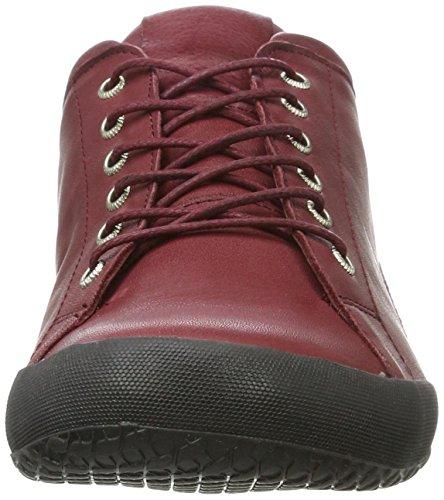 Andrea Conti 0342725 - Zapatillas Mujer Rot (Bordo)